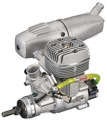 Video: O.S. GGT10 10cc Gasoline Engine