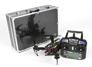 HobbyKing Black Widow 260 FPV Racer RTF Set (Mode 2)