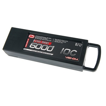 Venom 10C 3S 6000mAh 11.1V LiPo Battery For Q500 Drones