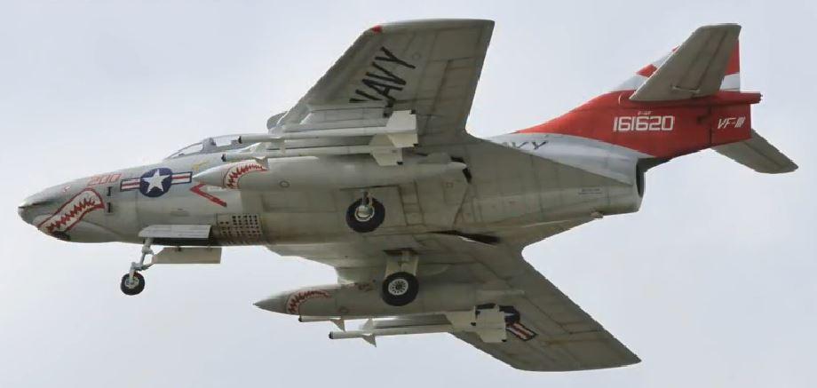 1/5-scale RC F9F Cougar