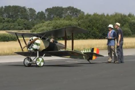 2/3-scale Hanriot HD.1