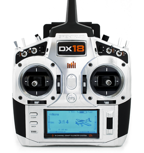 Spektrum DX18 With AR9020 Tx/Rx Only MD2