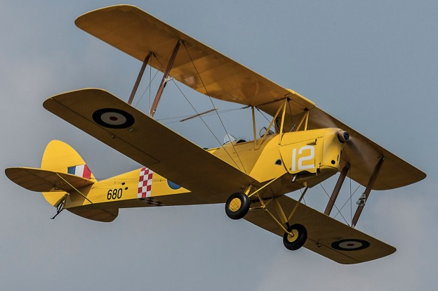 Gentle Giant: DH 82 Tiger Moth