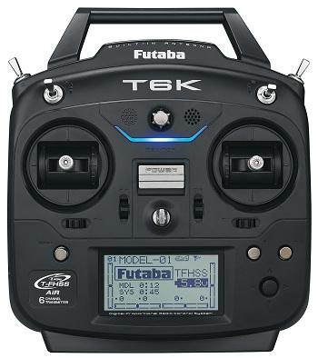 Futaba 6K 6-Channel Computer Radio System