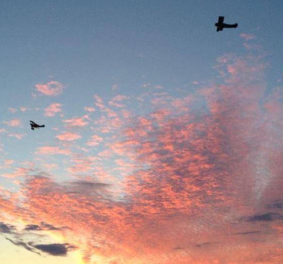 on patrol - Long Island Sky Hawks Dawn Patrol