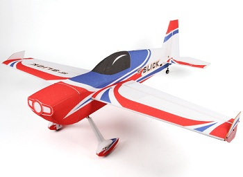 HobbyKing Slick 55 EPP/Light Plywood 3D Aerobatic Airplane 1430mm