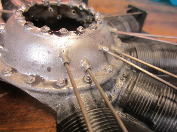 Installing a Dummy Rotary Engine — Dressing up my Camel — Part 2