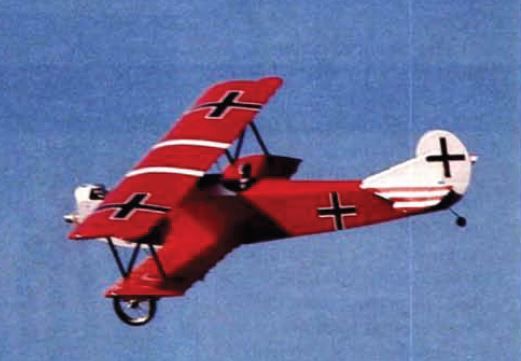 Build a Sport Scale Fokker Dogfighter