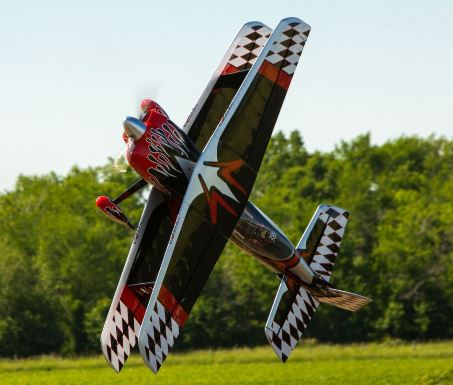 Exclusive Radical P3 Revolution 60cc Aerobatic Biplane