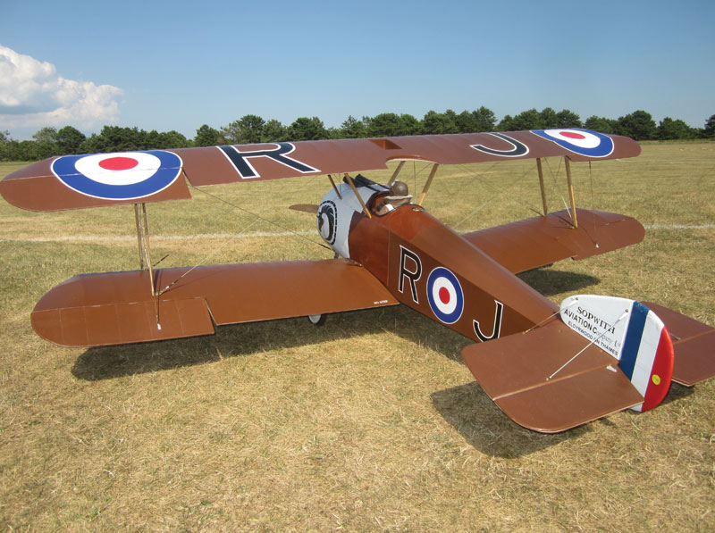 Sopwith Camel RC Construction Plan