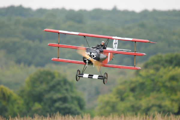 1/3-scale Fokker Triplane Flight Report — Sneak Peek