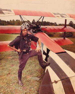 Cole Palen and his Triplane