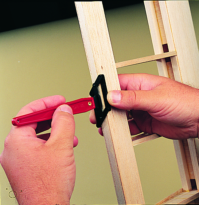 Model Airplane News Workshop Tip — Installing Hinges