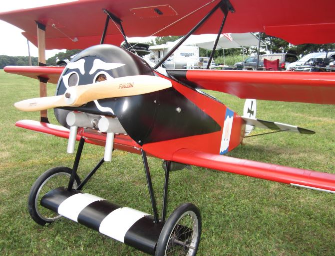 1 3 Scale Fokker Triplane Flight Report Sneak Peek