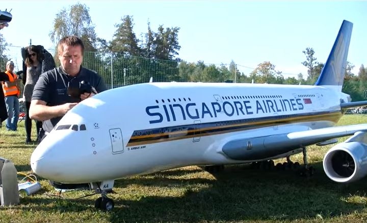 Real or RC? Amazing Airbus Puts on a Show