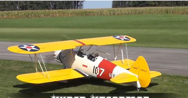 Super-sized Stearman