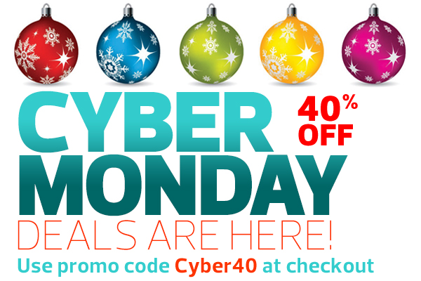 Holiday 40% Off Sale!