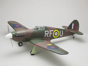 Kyosho Warbird Hawker Hurricane GP50 ARF (1)