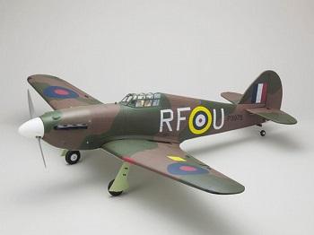 Kyosho Warbird Hawker Hurricane GP50 ARF