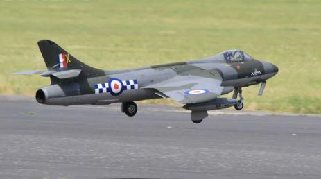 Hawker Hunter Strike Fighter