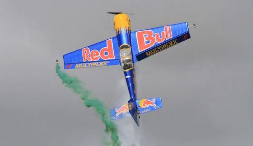 Monster Red Bull Aerobat