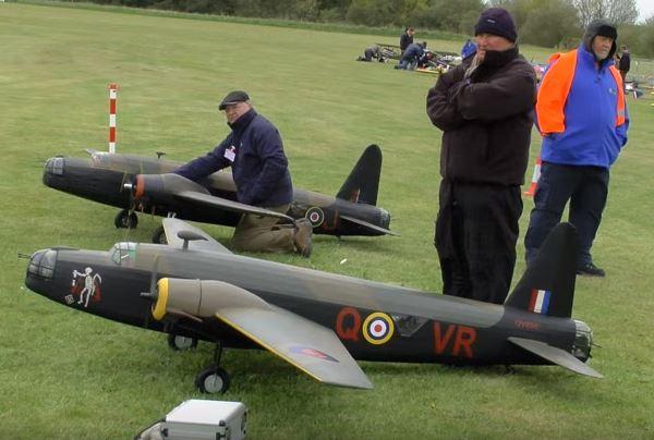 British Bomber Formation Flight