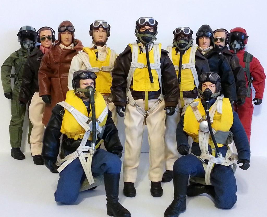 Warbird Pilots Scale Pilot Figures