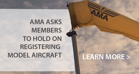 AMA Update to FAA Registration