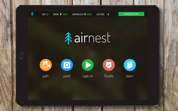 Airnest App Now Compatiable With DJI Phantom 3 Standard, 4K, And The Inspire 1 Pro [VIDEO]