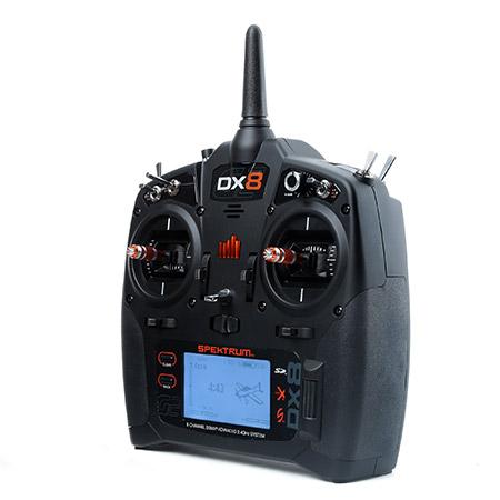 Spektrum DX8 Gen 2 DSMX 8-Channel Transmitter Mode 2 With AR8000 Receiver