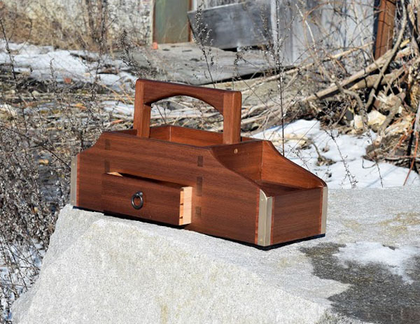 Amazing Hand-made Walnut RC Field Box