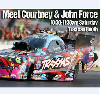 Meet John & Courtney Force at RCX!