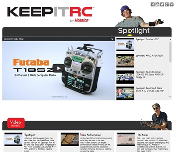 Hobbico Launches 1st Community RC Video Channel
