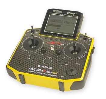 Jeti DS-14 Heli Carbon Diablo Limited Edition Radio System