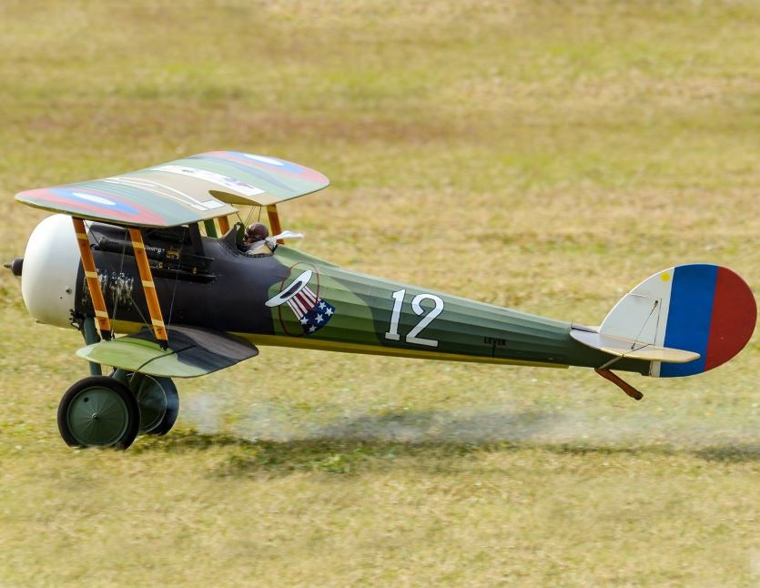 Road to Top Gun — Nieuport 28 C. 1