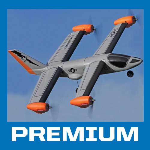 V-Hawk Quad Motor Tilt-Rotor Pilot Report