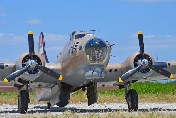 Road to Top Gun — B-17 Flying Fortress