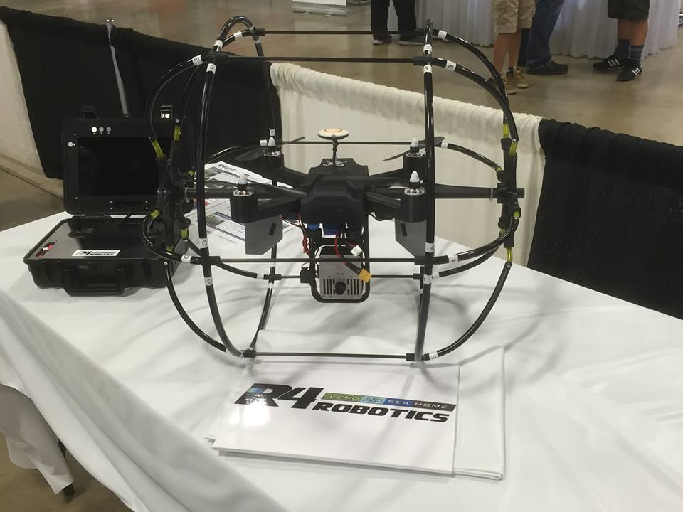 This Drone Gets Around – check it out at RCX!