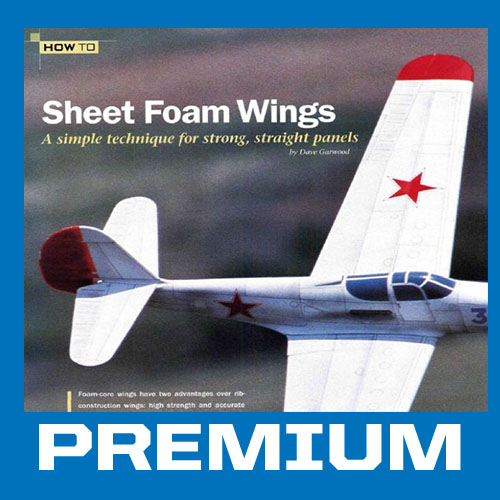 How to: Sheet Foam Wings