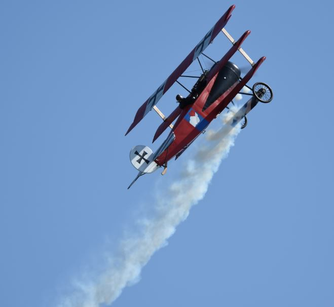 Triplane Tricks at Top Gun