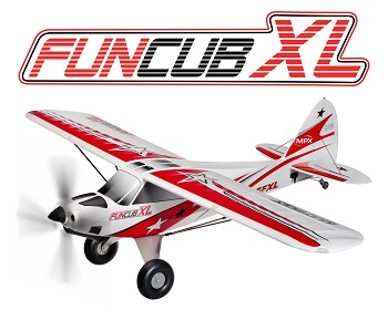 Hitec Multiplex FunCub XL (Kit And RR)