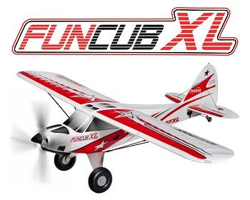 Hitec Multiplex FunCub XL (Kit And RR)