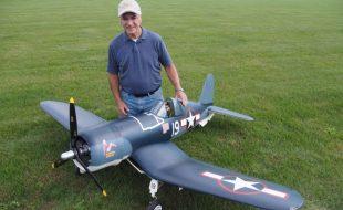 Lou Cetrangelo's Impressive FG-1D Corsair