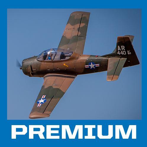 Carbon-Z T-28 Trojan ARF — Easy Warbird Makeover