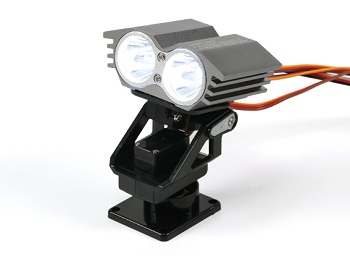 Turnigy Twin Search Light With Pan And Tilt