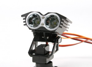 Turnigy Twin Search Light With Pan And Tilt (2)