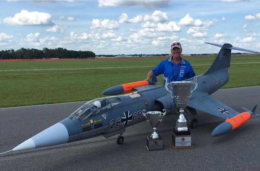 Mr. Top Gun: Peter Goldsmith & his F-104 Starfighter