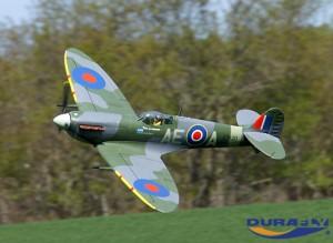 Durafly Spitfire Mk5 1100mm (PnF) ETO Scheme (12)