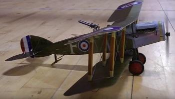 Microaces Aero F2b Prototype #1 Maiden Flight [VIDEO]