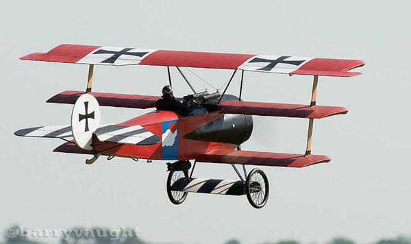 Model Airplane Tips for flying a Triplane
